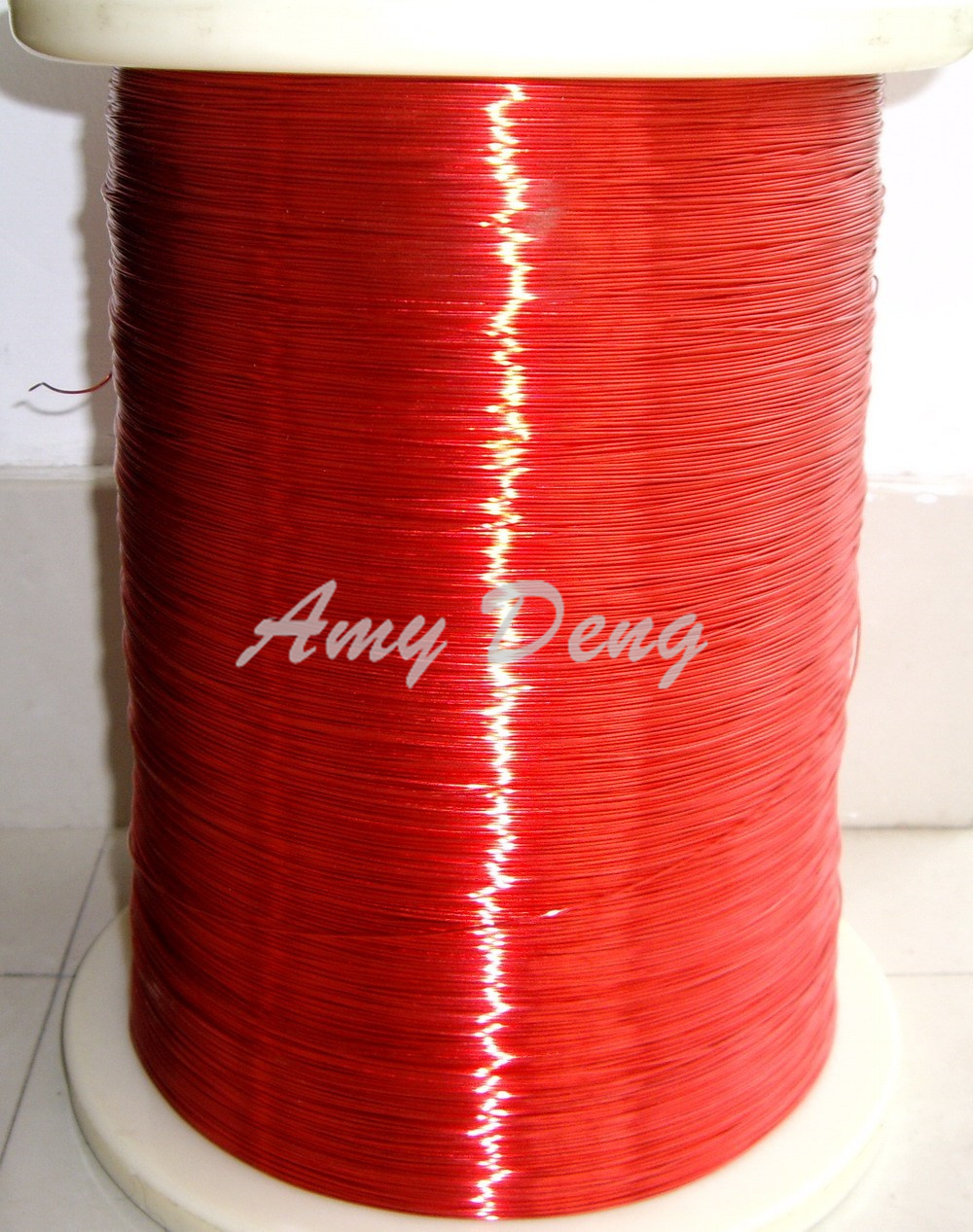 100 Meters/lot  0.8 Mm Red New Polyurethane Enamelled Wire Copper Wire QA-1-155 2UEW Per Meter For Sale