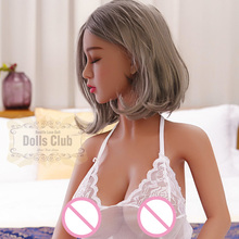 140cm Eyes closed Lifelike Real Silicone Sex Doll, Full Size Silicone with skeleton Love Doll,Oral Vagina Pussy Anal Adult Doll