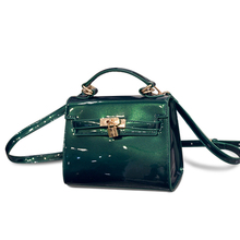 Lovely Candy Color Glazed Leather font b Handbag b font Women Trendy Designer Small Shoulder Bag