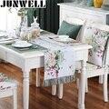 Junwell-nappe de Table avec glands | Tapis de Table en Polyester imprimé coloré fait à la main  nappe de Table avec glands