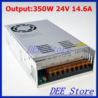 Led driver 350W 24V 14.6A Single Output ac 110v 220v to dc 24v Switching power supply unit for LED Strip light