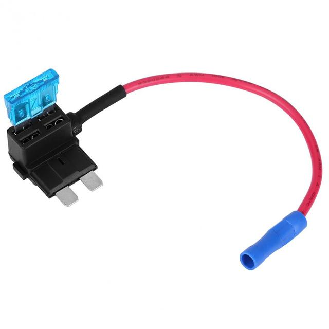 5Pcs Car Auto Add-a-circuit Fuse Tap Adapter Standard ATO ATC Blade Fuses Holder Car Fuse Adapter