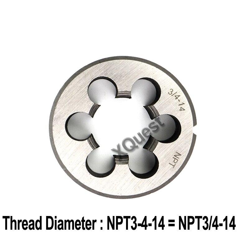"19 BSPT Taper Pipe Die 1//4-19 TPI New 1pc R or ZG 1//4/"""