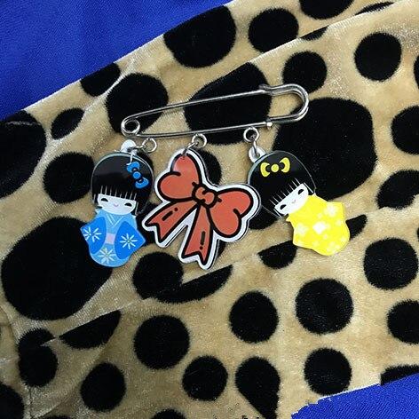 Весной и летом моды гриль любовь мультфильм акриловый лист контакты куртка рюкзак контактный девочка мальчик мешок знак аксессуары