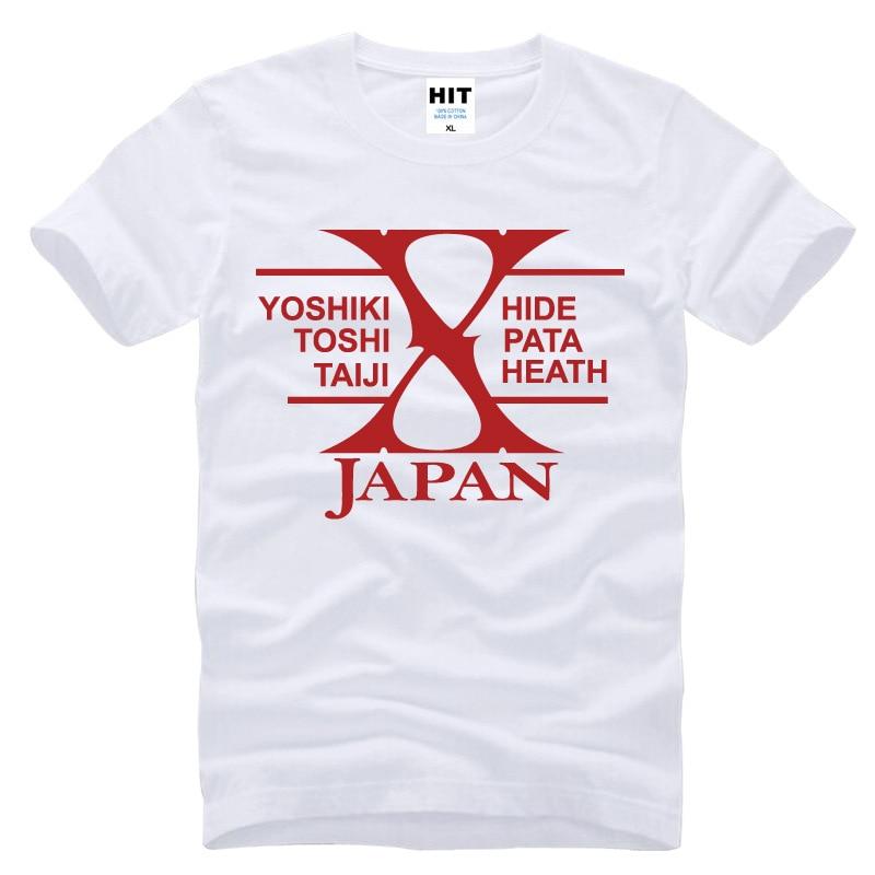 Japanski rock bend X-JAPAN Tiskana Muška Muška Majica Majica Moda - Muška odjeća - Foto 2