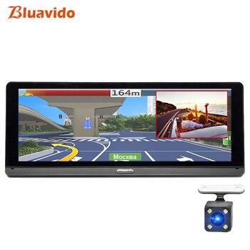 Bluavido 8 ips Автомобильный видеорегистратор Камера gps 4G Android ADAS FHD 1080 P Dash cam двойной объектив Автомобильный видеорегистратор ночного видения уда... >> Bluavido Official Store