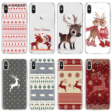 Merry Christmas for Cover iPhone 7 Case 6 6S 8 Plus XR 4 4S
