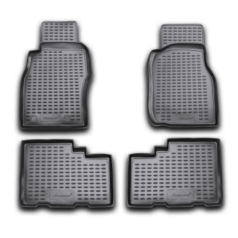 Floor mats for Nissan Patrol Y61 1998-2009 Element NLC3614210 фаркоп nissan patrol gr 1998 2009