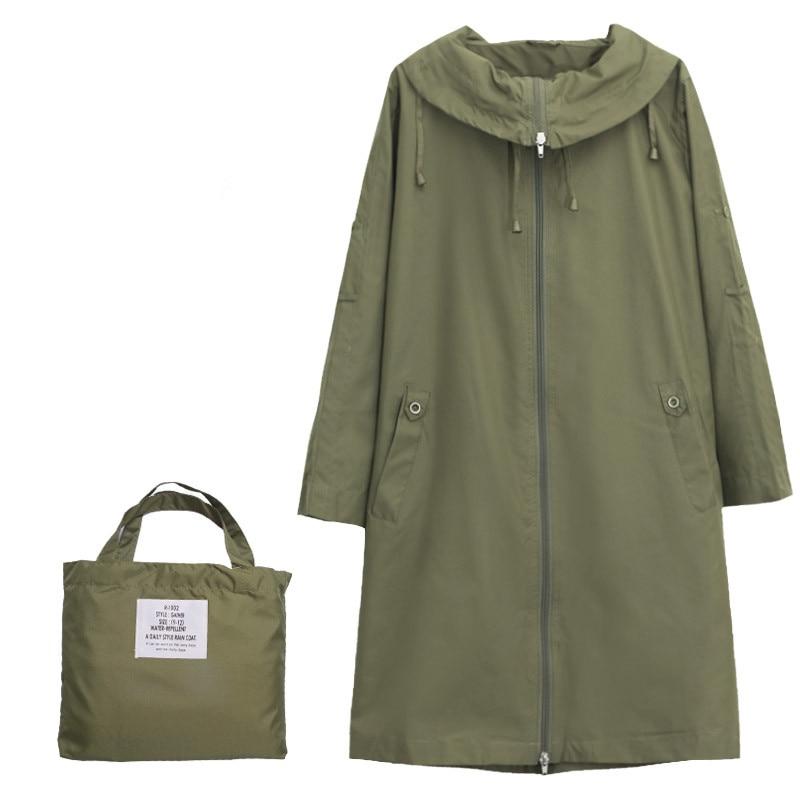 מעיל גשם דק לנשים מעיל גשם לנשים מעיל גשם פונצ'ו מקטורן (לא שרוול ארוך)