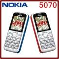 5070 Оригинал Nokia 5070 GSM 2 Г Разблокирована Дешевый Сотовый Телефон Один год гарантии Бесплатная Доставка