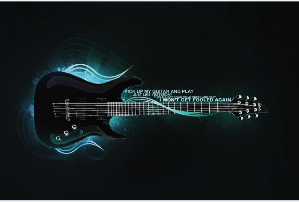 Image result for guitar wallpaper for facebook cover for girls