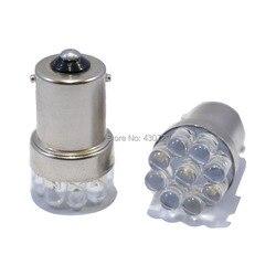 4 pcs/lot ampoule de voiture en gros lampe 1156 382 BA15S P21W 9 lumière LED blanc rouge jaune feux de frein arrière