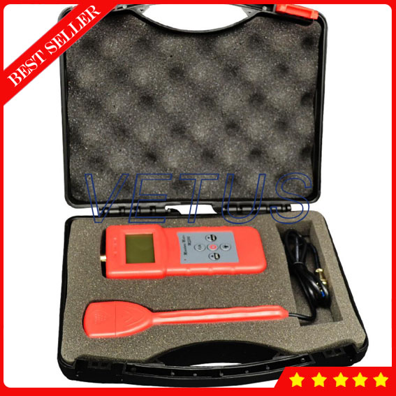 MS310-S Inductive Concrete Moisture Meter for wood Timber paper Bamboo Carton textile tester  цены