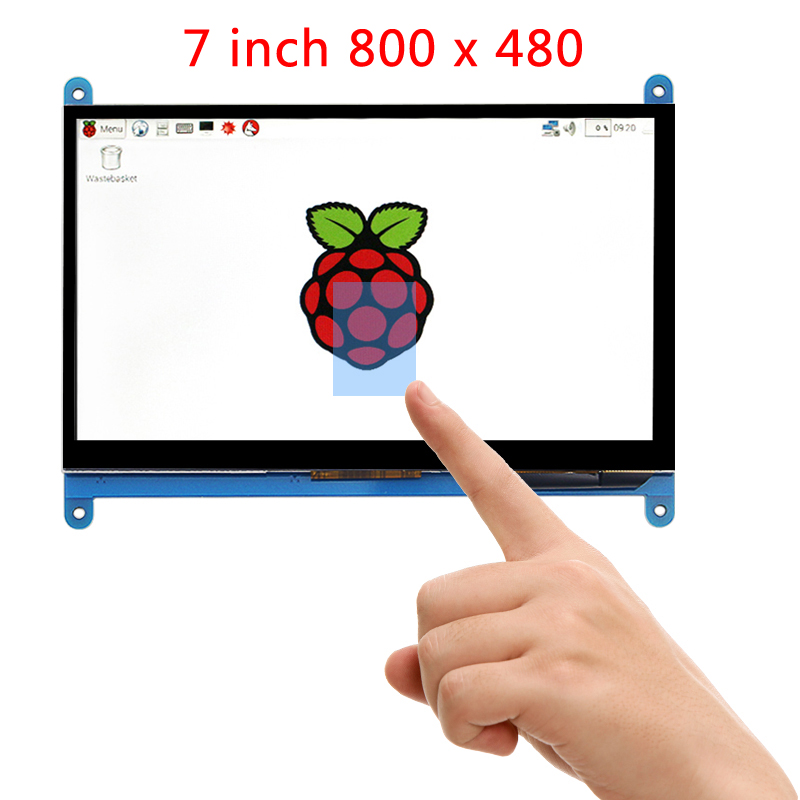 Raspberry Pi 3 Model B LCD Display 7 inch TFT HDMI 800*480 LCD with Touch Screen for Raspberry Pi 3 Model B+ Plus 7 inch 1280 800 lcd display monitor screen with hdmi vga 2av driver board for raspberry pi 3 2 model b b a