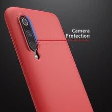 Xiaomi mi 9 케이스 용 nillkin xiaomi mi 9 케이스 용 액체 실리콘 부드러운 보호용 뒤 표지 mi 9 글로벌 케이스 탐색 6.39