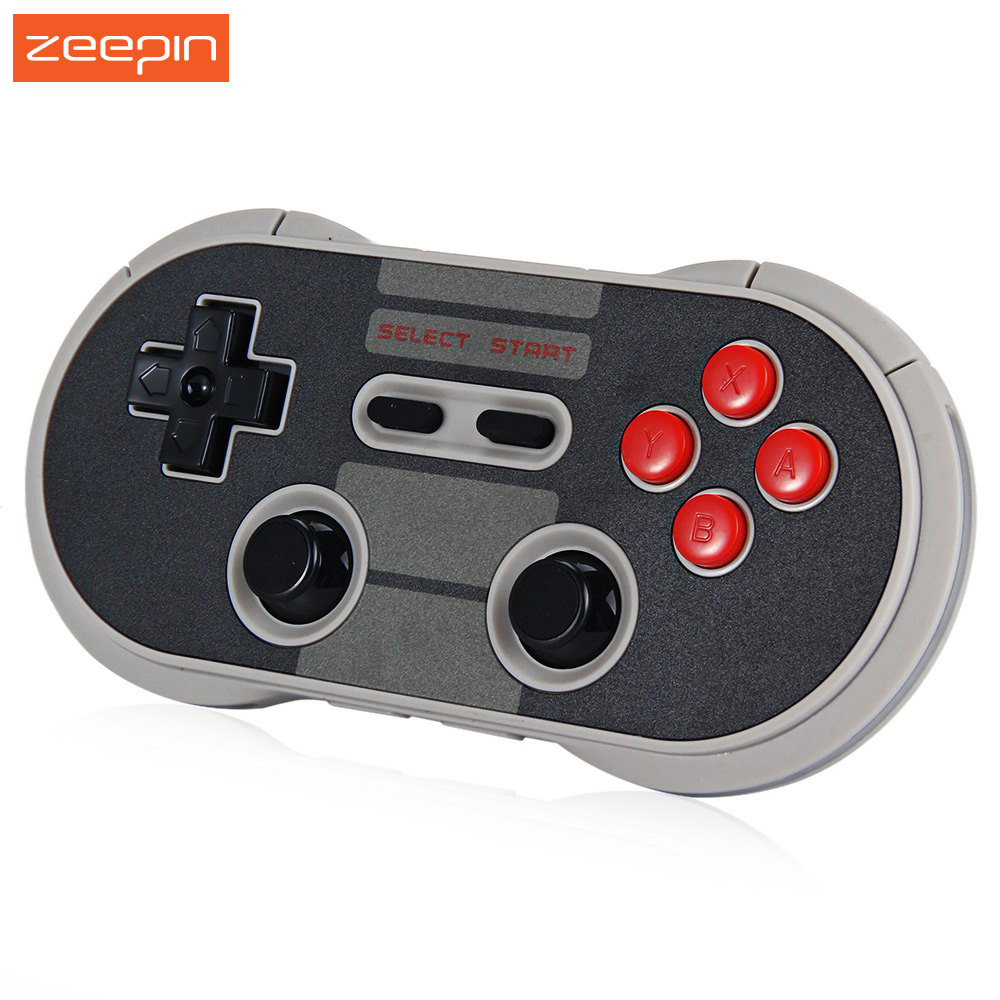 8Bitdo NES30 Pro Wireless Bluetooth Game Controller Dual Classic Joystick Gamepad PC Mac Linux for iOS