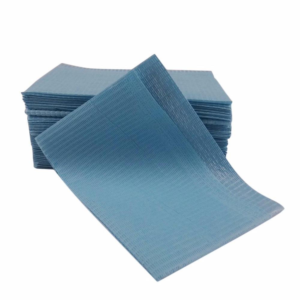 100pcs Disposable Tattoo Clean Pad Cloth Waterproof Medical Hygiene Personal Paper Tablecloths Mat Sheets Tattoo Accessories hot