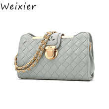 WEIXIER 2019 New Fashion new Casual Clutch dinner women laptop Satchel Bag Small summer bright skin Evening Bags LY-42