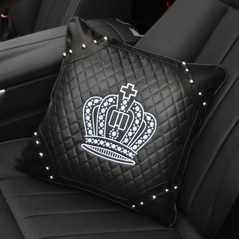 Crown-Series-Inerior-Accessories-for-Girls-Leather-Car-Steering-Wheel-Covers-Sun-Visor-Tiessue-Box-Pillows (11)