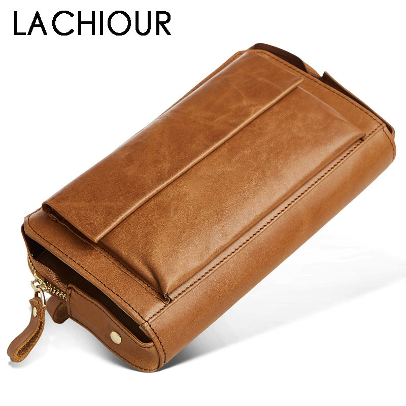 Solid Real Genuine Leather Men Clutch Wallets Male Long Handy Bag Wallet Carteiras Mujer Clutch Leather Purse Men Wristlet men clutch bag italian vegetable tanned leather long wallet luxury phone wallets wristlet male purse man clutch hand bag purses