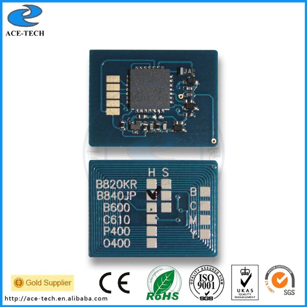 6K Toner chip for OKI B820 B840dn Japan laser printer cartridge 4949443207569 powder for oki data 700 for okidata b 730 dn for oki b 720 dn for oki data 710 compatible transfer belt powder free shipping