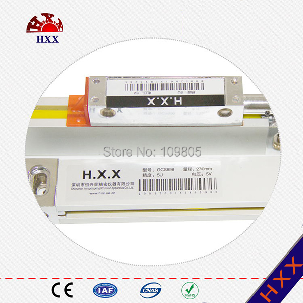 China manufacturer high quality reader head of linear guide rail with 5 micron china intemediate reader