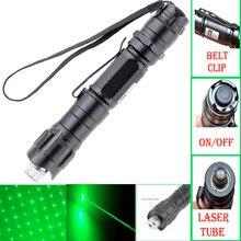 Best Buy 532nm green  Laser Pointer Strong Pen high power powerful  pointer  green laser flashlight New Freeshipping