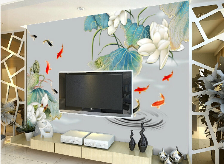 wallpaper murals flowers Picture - More Detailed Picture about ...