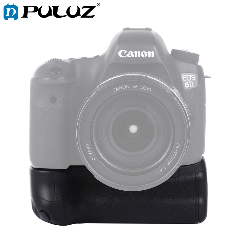PULUZ Battery Grip For Canon EOS 6D Digital SLR Camera Vertical