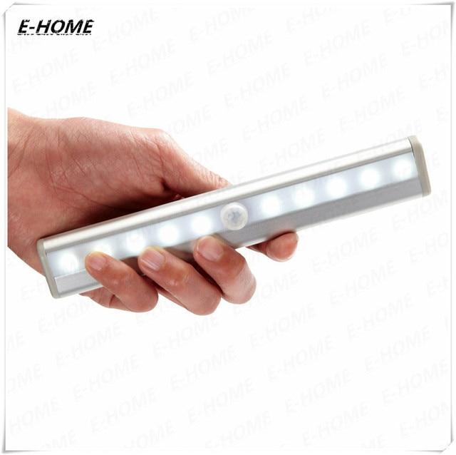 LED gabinete de luz infrarroja del sensor del cuerpo de luz del sensor de luces de estantería luz de tira