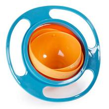 High Quality Baby Feeding Toy Infant Baby Toy Universal 360 Rotate Spill-Proof Bowl Dishes Funny Gift Baby Accesories 3 Colors