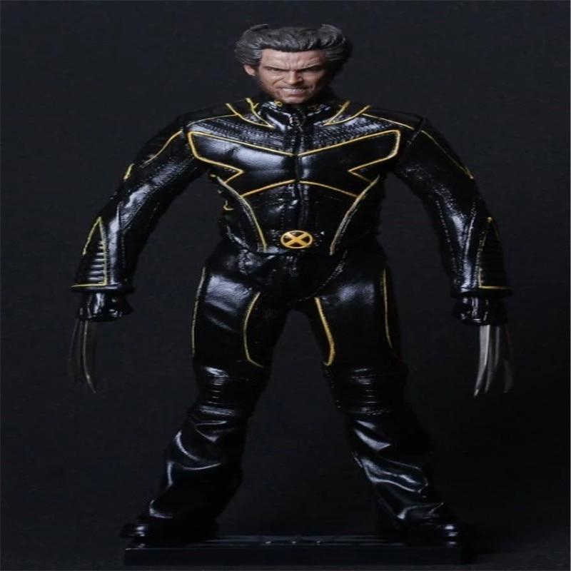 x men deadpool super warrior pvc action figures collectible model toys 36cm kt1979 Action Figure Toys X-Men Logan PVC Action Figure Collectible Model Toy 30cm KT3570