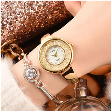 Relojes Mujer 2019 Watches Fashion Womens Elegant Rose Gold Women Quartz WatchWomen Dress Wristwatches Relogio Feminino