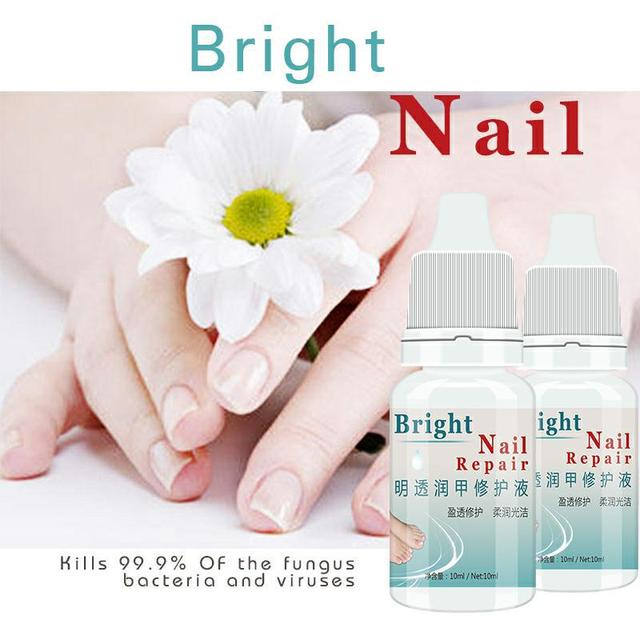 Kills 99.9% Bacteria Nail Care Treatment Nail Fungus Oil Onychomycosis Paronychia Anti Fungal Nail Infection 10ml Repair Nails