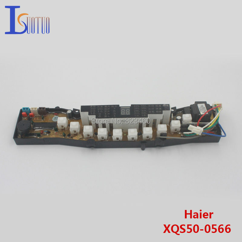 Haier washing machine board XQS50-0566 Antibiotic XQB50-0566H Original washing computer control panel mei wan and cherry universal hood board computer board control panel compatible with all brands of range hoods all