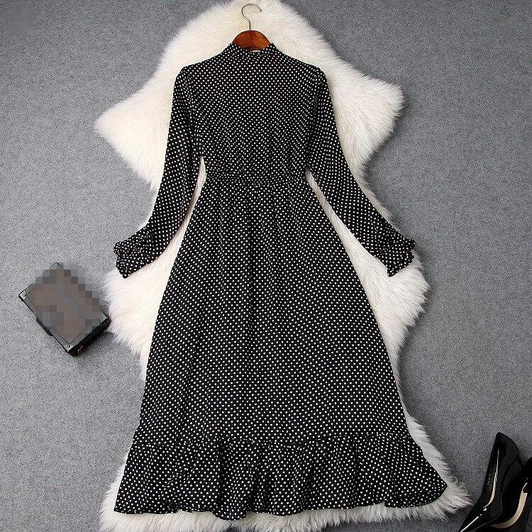 Printemps De Qualité Mode Partie Femmes Européenne Style Luxe Marque Nouvelle Design 2019 Robe S01436 Supérieure fgyI76vYb