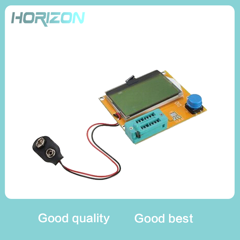 M328 LCR-T4 Mega328 ESR Meter LCR led Transistor Tester Diode Triode Capacitance MOS PNP NPN 12864 Display Module multimeter multi purpose transistor tester lcr t4 mega328 m328 diode triode capacitance inductance resistor esr test meter