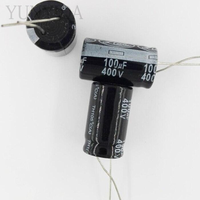 Aluminum Electrolytic Capacitor 400V  100UF   5PCS