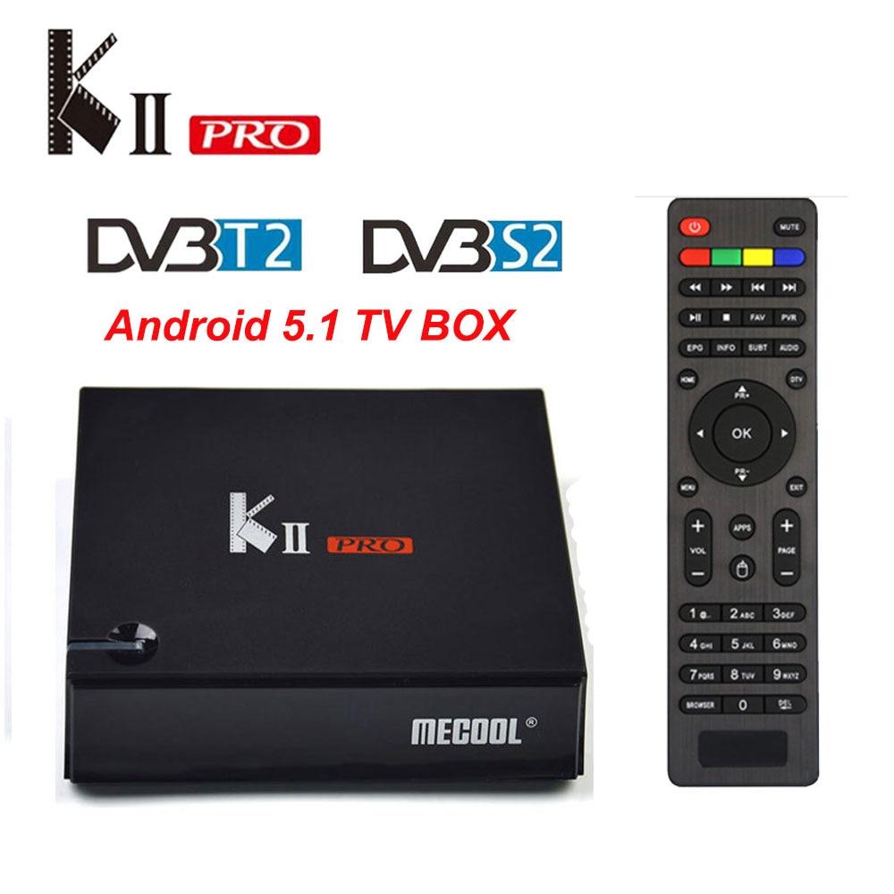 5pcs KII PRO DVB-S2 DVB-T2 S905D Android 5.1 TV Box Quad Core 2GB 16GB K2 pro DVB T2 S2 4K Media player CCCAM NEWCAMD mecool kii pro tv box dvb t2 dvb t2 s2 amlogic s905 quad core 2gb 16gb android 5 1 tv box bluetooth 2 4g 5g wifi set top box