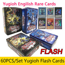 Wholesale 60PCS/Set Yugioh ( Rare Flash Cards ) Box Yu Gi Oh Game Paper Cards Kids Girls Boys Toys Collection Cards Toys 2018(China)