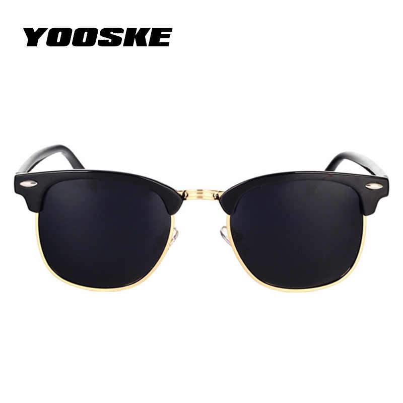 b91382380a ... YOOSKE Classic Polarized Sunglasses Men Women Retro Brand Designer High  Quality Sun Glasses Female Male Fashion ...