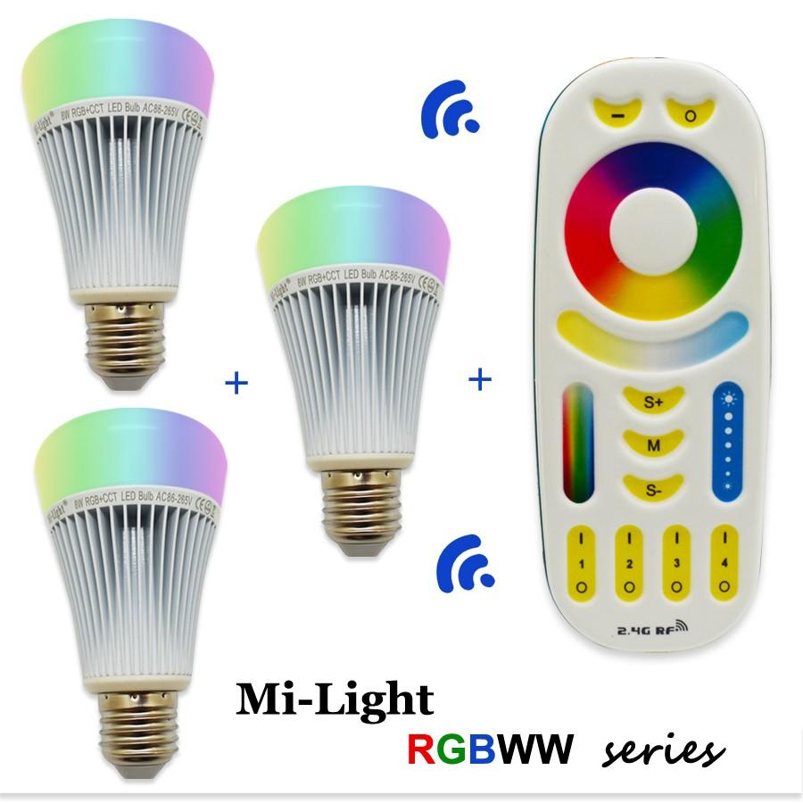 RGBWW 8W LED BULB3