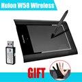 Huion W58 tableta gráfica de dibujo Wirless tableta de la versión de como H610 1060 PRO + Pergear Headset ( limitado ) como regalo