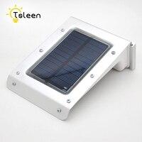 TSLEEN 1 CÁI Waterproof Solar Power 20LED Luminaria Năng Lượng Mặt Trời Ánh Sáng Chuyển Động Cảm Biến Đèn Điều Khiển Giọng Nói Vườn Đường Dẫn Tường Ánh Sáng