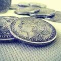 Aço dólar Morgan ( 3.8 cm de diâmetro ) - truque, Máscara de papel machê, Truques de mágica, Adereços, Dice magia, Da