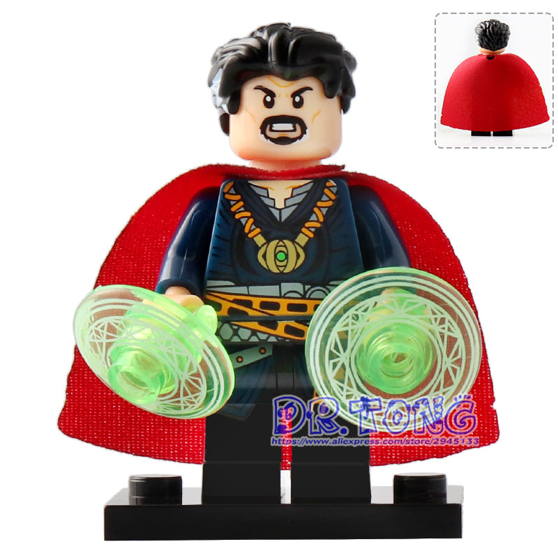 Single Sale XH825 DR.TONG Super Heroes Doctor Strange Building Blocks Children Gift Toys