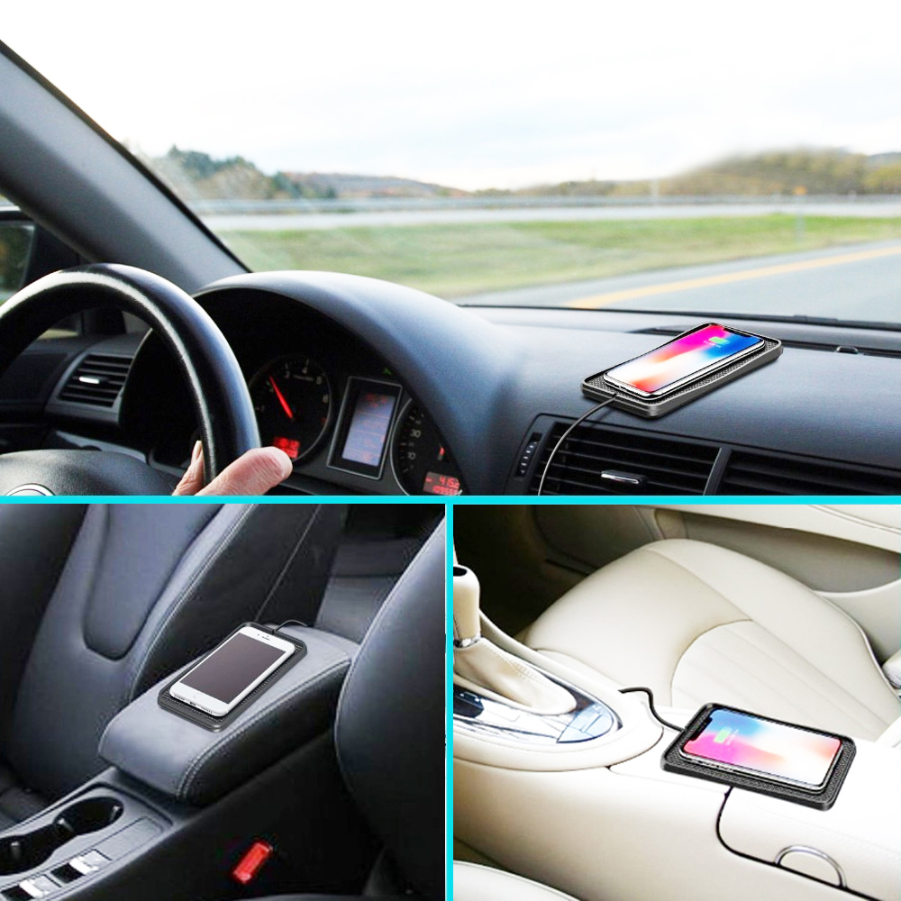 wireless car charger qi wireless charging pad fast charger