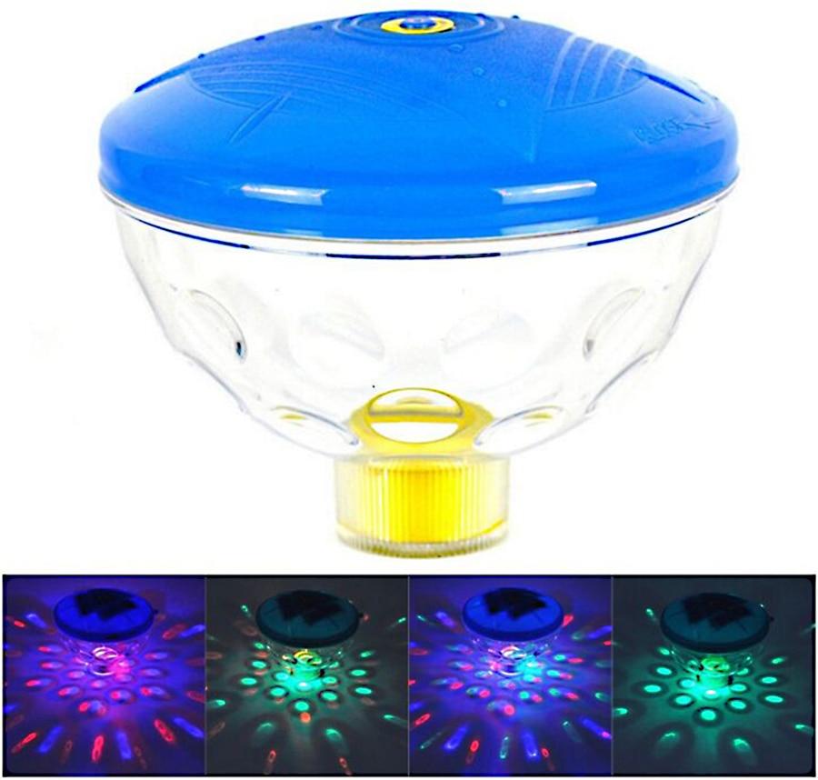 US $5.55 70% OFF Battery Powered Underwater Fountain Light Disco Spa  Bathtub Light Swimming Pool Float lamp Pond Fish Tank Aquarium LED Light-in  LED ...