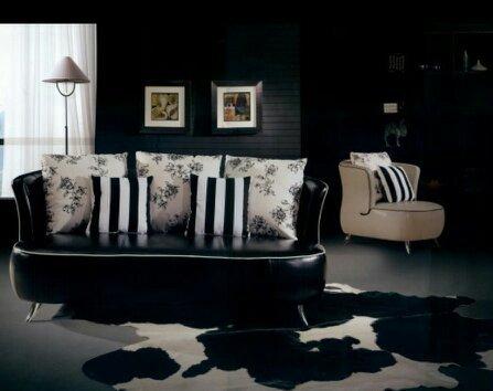 modernes design ledersofa-kaufen billigmodernes design ledersofa ... - Moderne Wohnzimmer Sofa