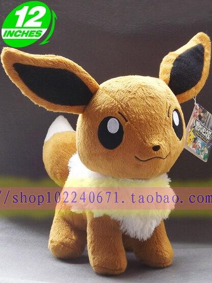 Фильмы и ТВ Pokemon 30 см Pocket Monster Eevee плюшевые игрушки около 12 дюймов кукла подарочные p5796